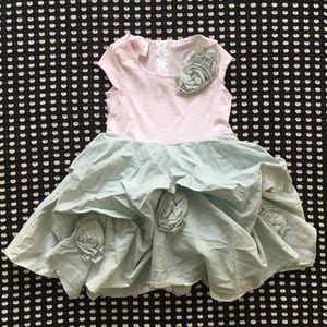 Biscotti children's frilly dress